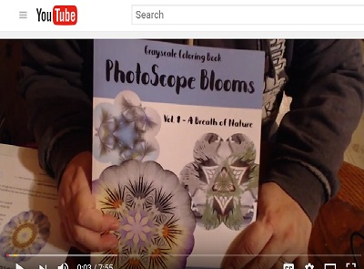 Book Review Walk-Through: PhotoScope Blooms, Vol. 1 – A Breath of Nature