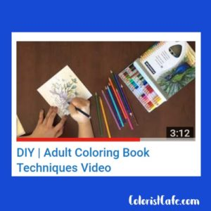 Adult Coloring Book Techniques Video