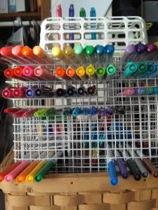 sharpies storage
