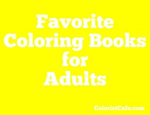 favorite coloring books for adults